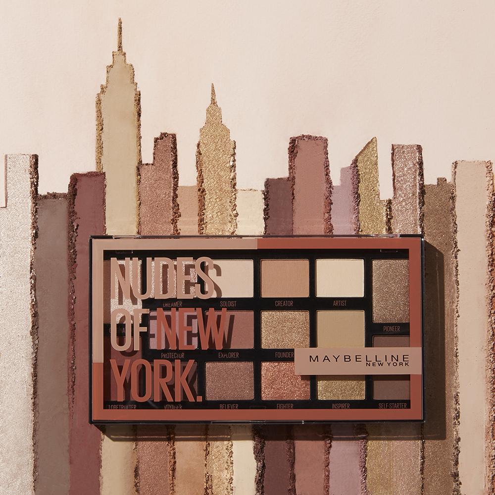 צלליות חדשות של מייבלין ניו יורק, מחיר מומלץ לצרכן 50 ₪, צילום יחצ